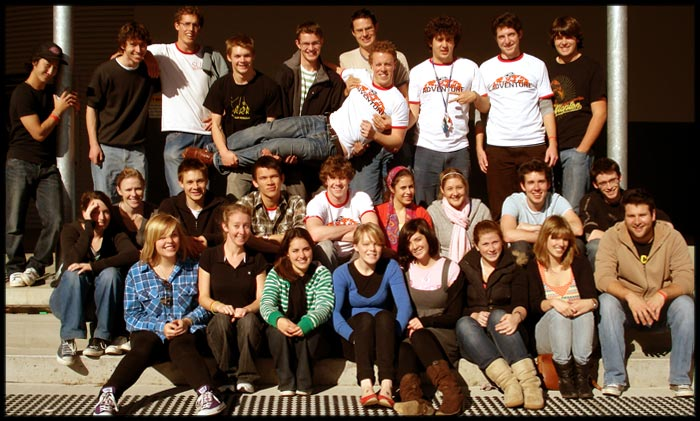 Crusaders Winter Study Camp #1 2007 leaders photo