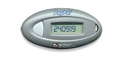 Verisign OTP from PayPal