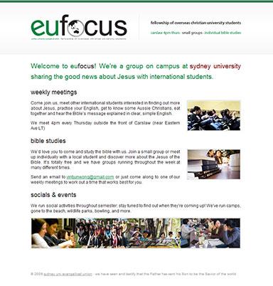 eu focus website